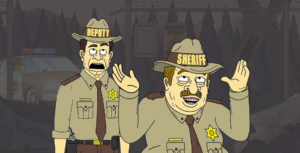 Link to Momma Named Me Sheriff project page